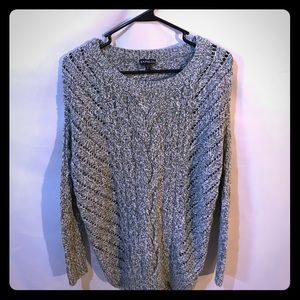 Express cable knit sweater
